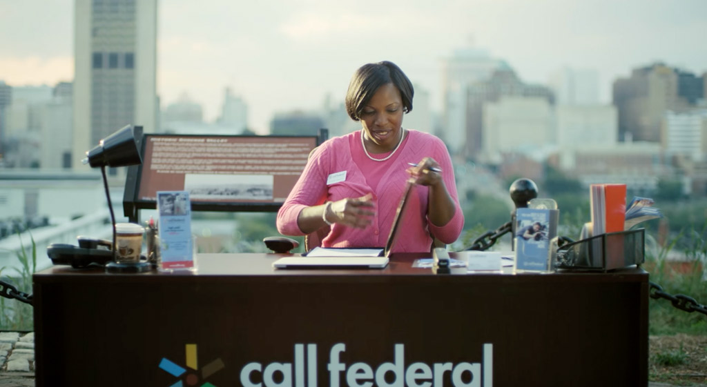 Call Federal Credit Union Desk Video Thumbnail