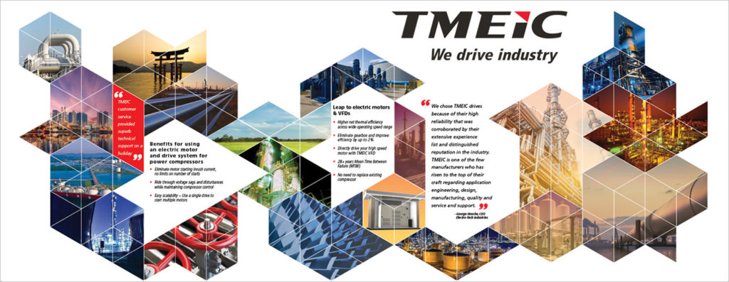 TMEIC Wall Graphic Image
