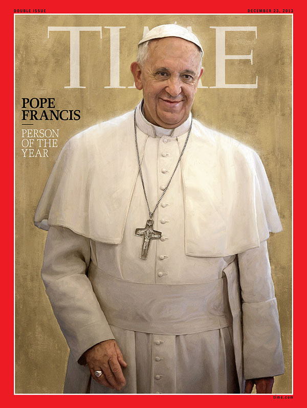 Pope Time Magazine Cover Image
