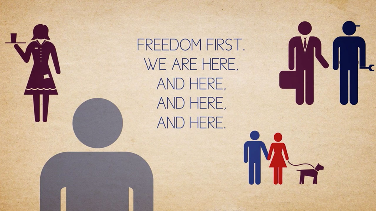 Freedom First Animated Video Thumbnail