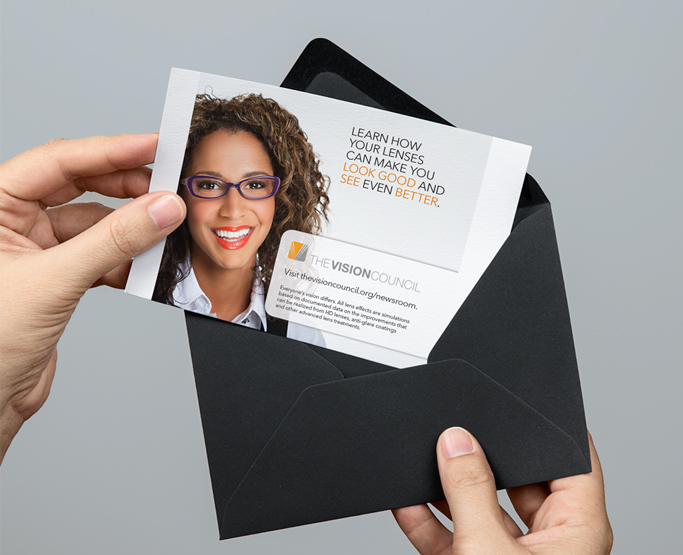 The Vision Council Direct Mail Image