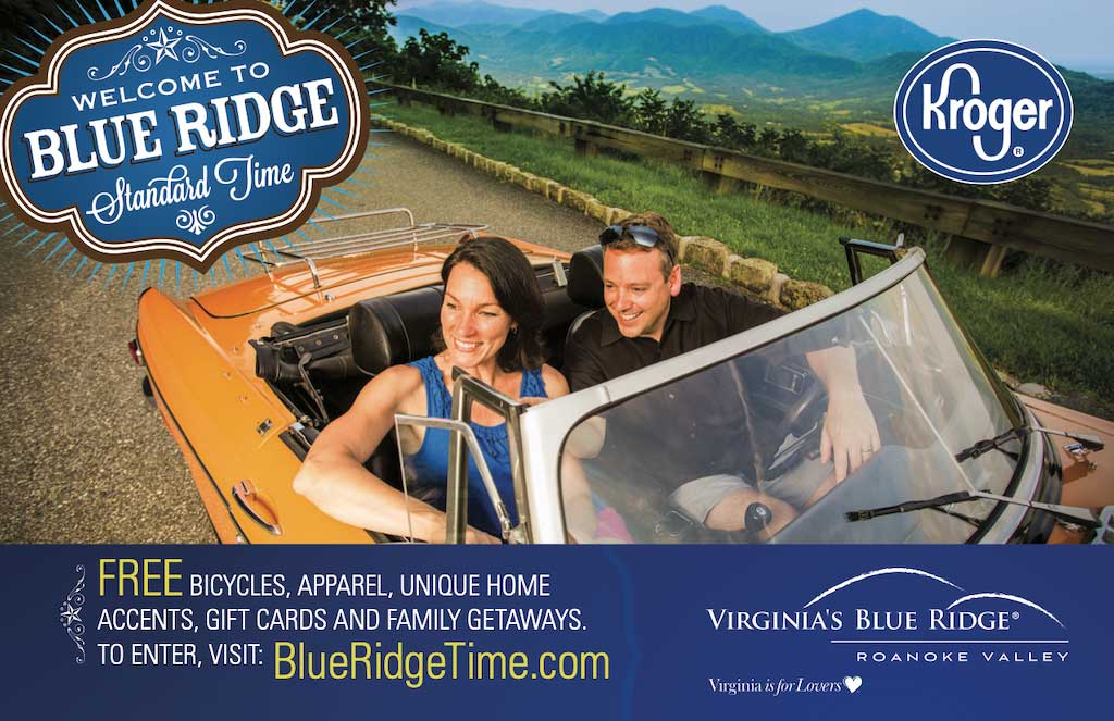 Blue Ridge Kroger Car Ad