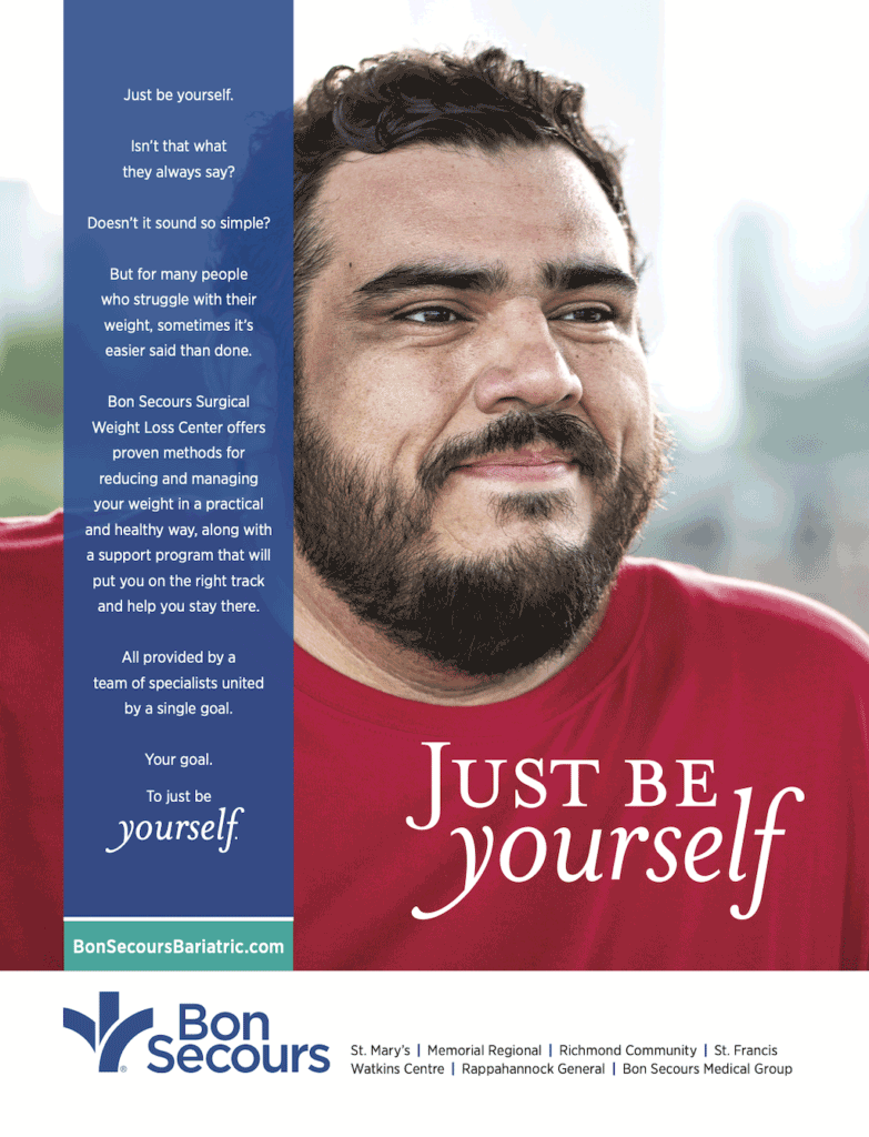 Bon Secours Just Be Yourself Ad