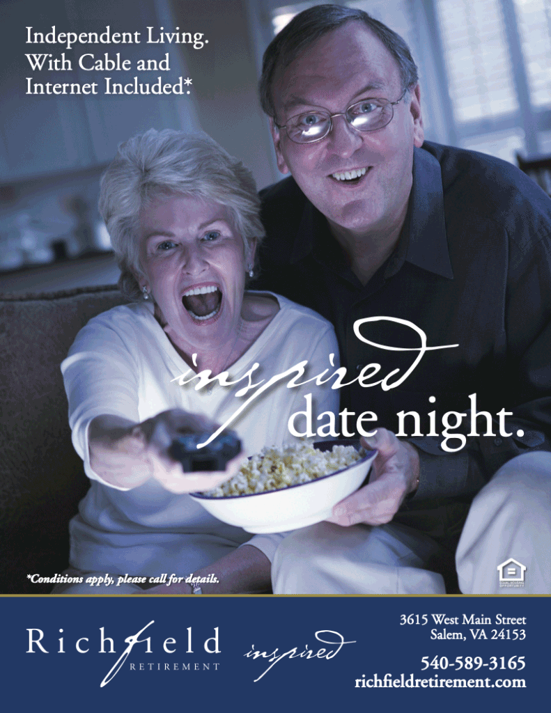 Inspired Date Night Richfield Retirement Ad