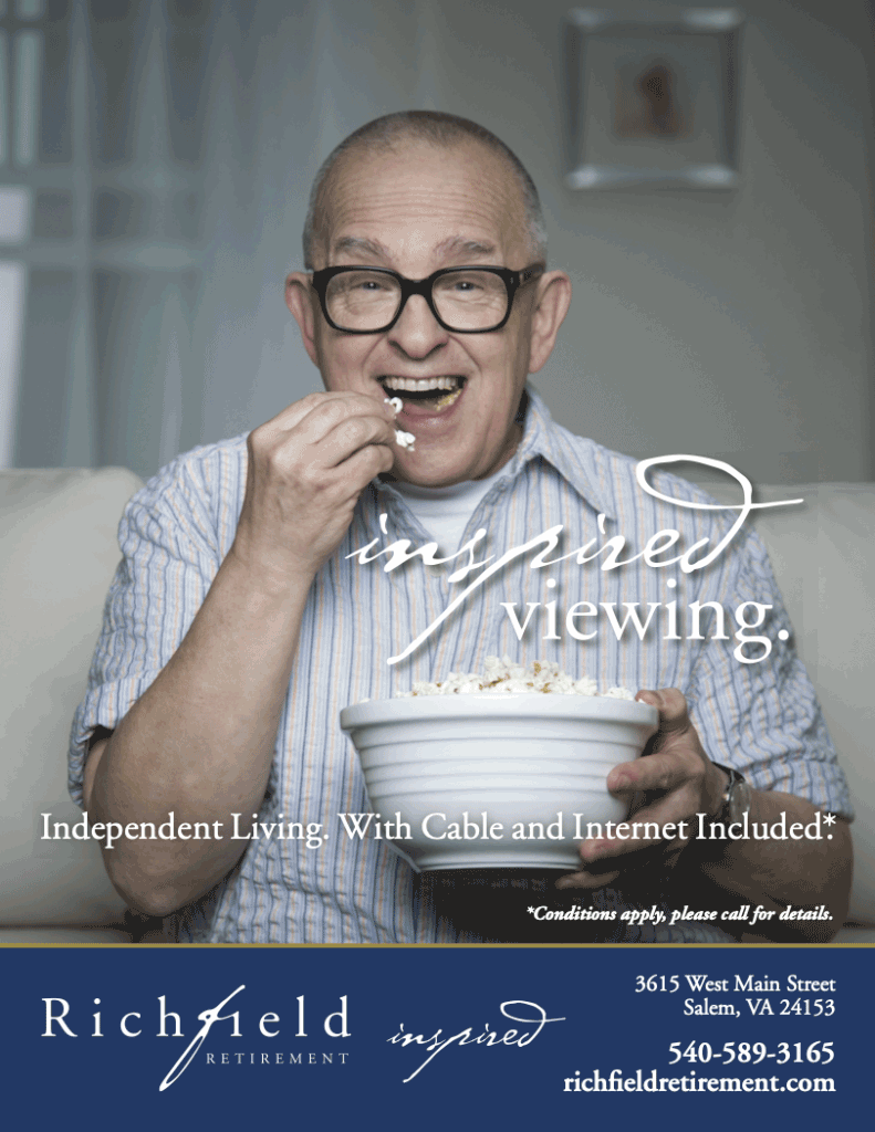 Inspired Viewing Richfield Retirement Ad