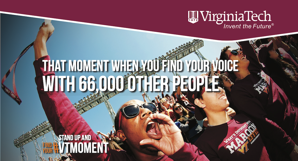 VT Find Your Voice Ad