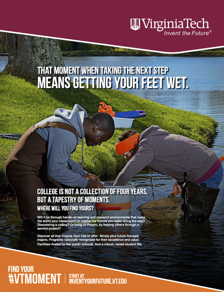 Vt Getting Your Feet Wet Ad