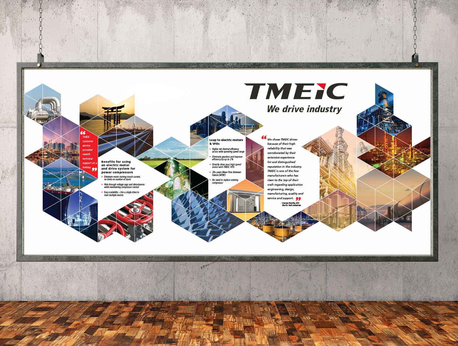 TMEIC Airport Signage